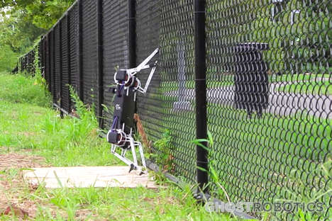 Fence-Climbing Robots - The 'Ghost Minitaur' Can Climb Fences and Stairs and Open Doors