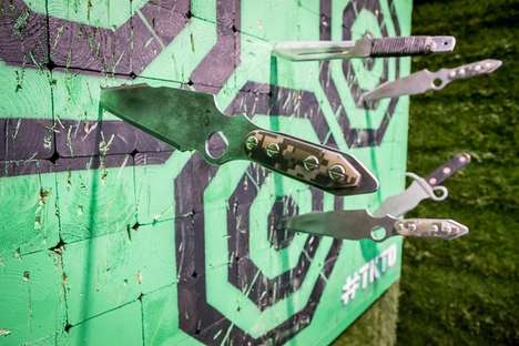 Knife-Throwing Leagues - Toronto Knife Throwing Organization Takes Target Practice to the Extreme