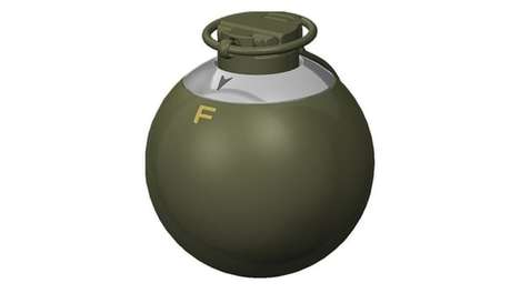 Hybrid Hand Grenades - This Grenade Design Allows For Different Modes Of Enemy Engagement