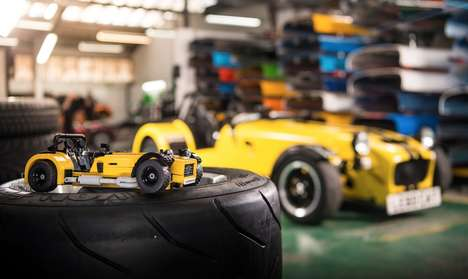 Automotive LEGO Kits - This Caterham 620R Kit Lets You Recreate a Supercharged Road Car