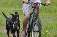 Cyclist Canine Leashes - The Walky Dog Hands-Free Leash for Dogs Guides Dogs During Rides