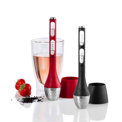 Timer Tea Infusers - The AdHoc Tea Egg with Hourglass Timer Brews Perfect Cups Every Time
