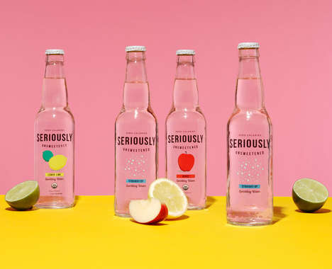 Unsweetened Sparkling Waters