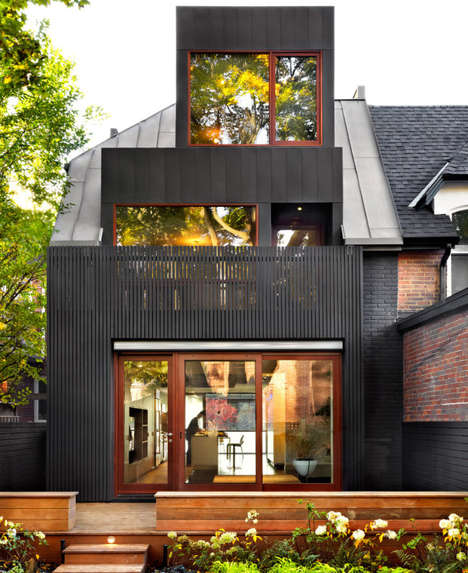 Modernized Victorian Homes - This East-End Toronto House Received a Highly Contemporary Makeover