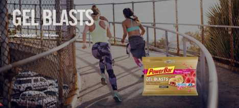 Energy-Boosting Candies - PowerBar's Gel Blasts are Designed Fueling Strenuous Workouts