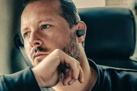 Gesture-Control Ear Pieces - The Sony Xperia Ear Assistant Interprets the Movement of the Wearer