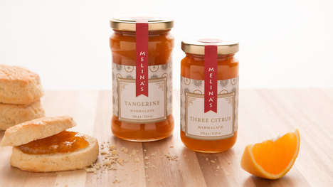 Artisanal Dessert Collections - These Citrus Mediterranean Desserts Come in Vintage Branding