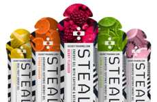 Fast-Acting Energy Gels - The Stealth Advanced Isotonic Energy Gels Provide an Instant Energy Boost
