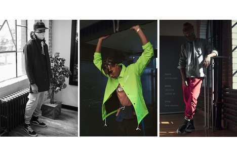 Urban Neon Menswear - Raised by Wolves Flaunts Highlighter Greens and Bold Prints in Its Line