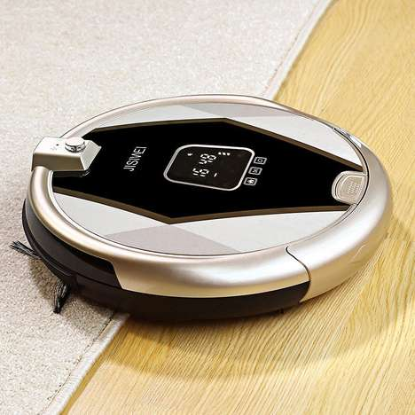 HD Security Cam Vacuums - The StillCool Smart Vacuum Cleaning Robot Monitors the Home While Cleaning