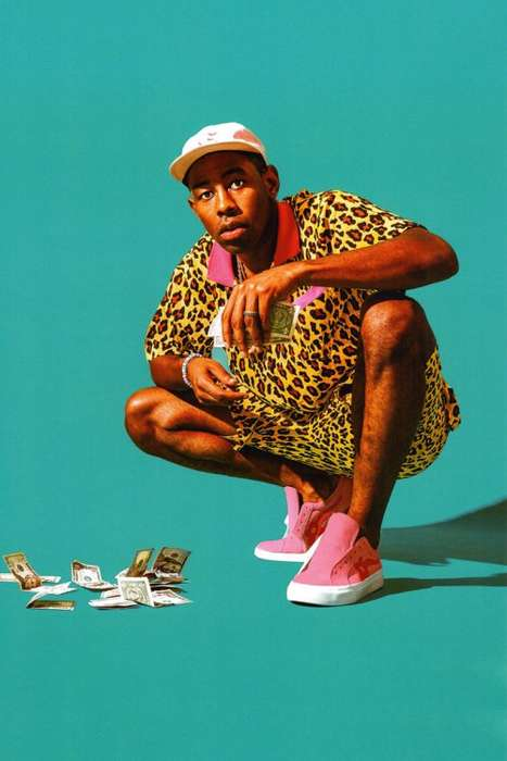 Color-Sopped Rapper Fashion - Tyler, the Creator Debuted a Lookbook for His New Golf Wang Series