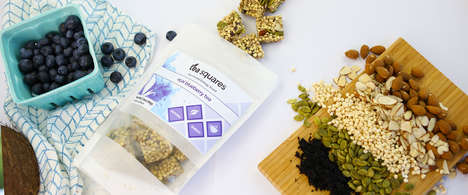 Nutritious Tea-Infused Snacks - TeaSquares Are Packed with Healthy Natural Ingredients