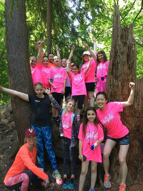Empowering Tween Activity Groups - 'Sole Girls' Brings Young Girls Together to Socialize and Train