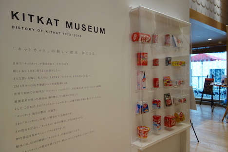 Branded Chocolate Museums - Tokyo's Kit Kat Museum Explores Confections from 1973 to Present