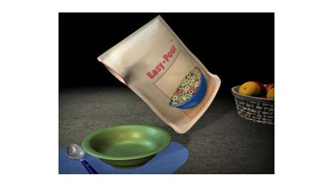 Side-Sealing Food Bags - Olin Design Group's Easy Pour Bag Gives Consumers More Control When Pouring
