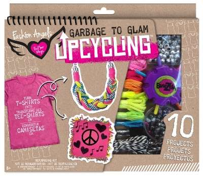 Eco Tween Fashion Kits - The Fashion Angels Garbage to Glam Upcycling Product Lineup is Interactive