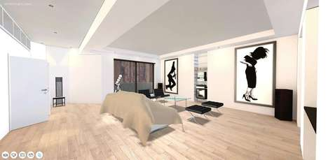 Virtual Movie Apartment Tours - Archilogic Built a 3D Model of the 'American Psycho' Apartment