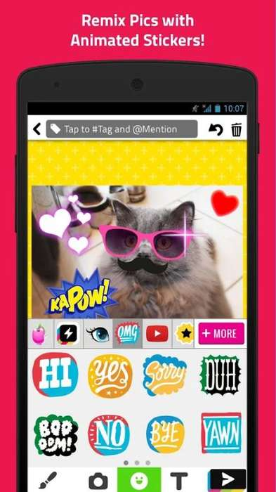 Safety-Geared Social Platforms - 'PopJam' Is an App for Teens and Tweens with Photo Sharing and More