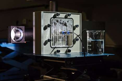 Compact Photosynthesis Systems - This Photosynthesis Unit Generates Hydrogen From Water