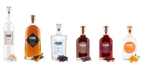 Socially Responsible Spirits - 'Fair' Spirits are Made with Ethically Sourced Ingredients