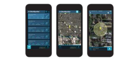 Gunfire Alert Apps - The ShotSpotter Flex App Helps Law Enforcement Tackle Gunfire Incidents