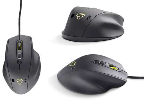 Heart-Tracking Mouses - The Mionix Naos QG Biometric PC Gaming Mouse Tracks Users' Health