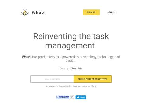 Productivity-Focused Dashboard Tools - The 'Whubi' Productivity Tool Supercharges Task Management