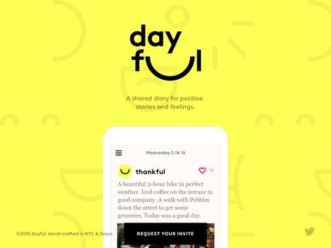 Communal Journaling Apps - 'Dayful' is a Shared Journal App that Encourages Users to Celebrate