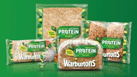 Protein-Infused Wheat Products - Warburton's Baked Foods are Made from Dried Seeds and Wholemeal