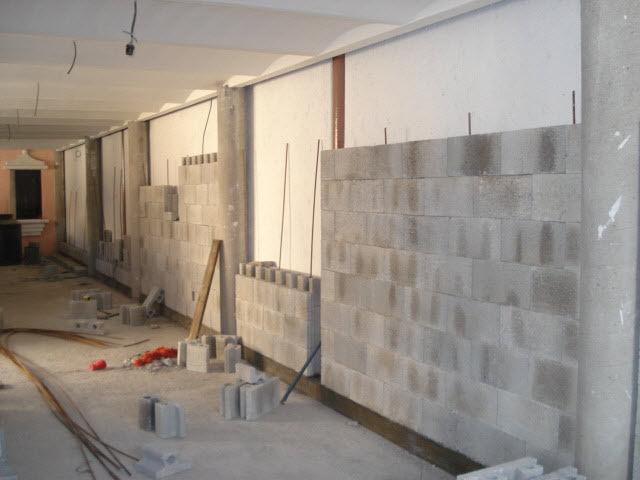 Clube do concreto o sistema armo block - Muros decorativos para interiores ...