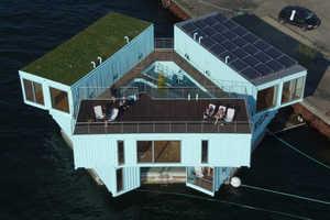 Urban Rigger's Affordable Dorms are Afloat in Copenhagen's Harbor