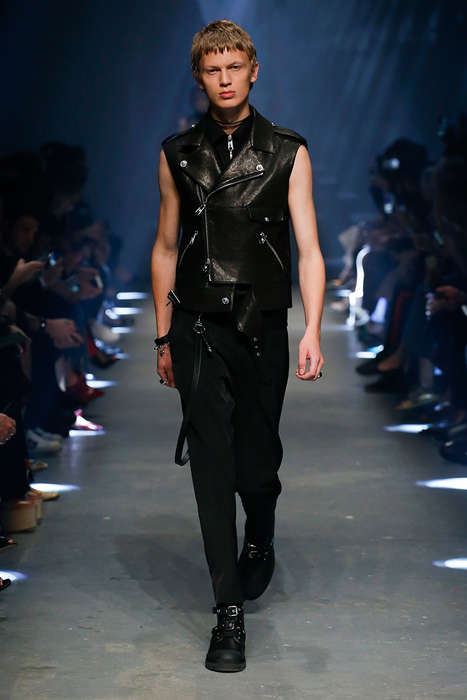 Contemporary Underground Couture - The Versus Versace Spring/Summer Line Consists Largely of Leather
