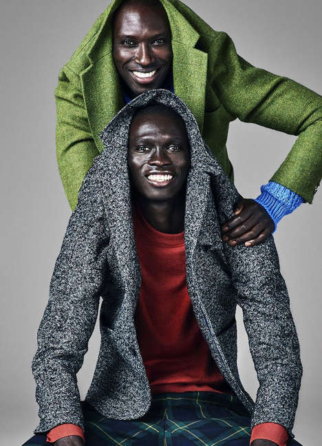 Playful Businesswear Editorials - Esquire Magazine's New Issue Features Fernando and Armando Cabral