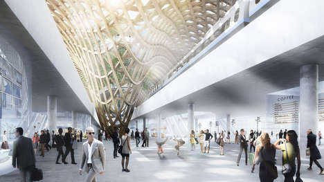 Matchstick-Inspired Train Stations - The Sodra Munksjon Station Proposal References Jonkoping's Past