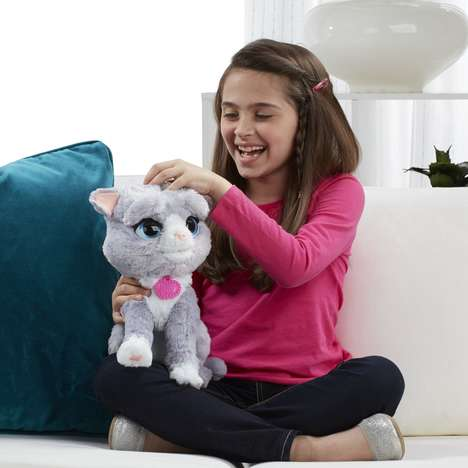 Interactive Reactionary Toy Cats - The FurReal Friends Bootsie Toy Responds to Cuddling and Treats