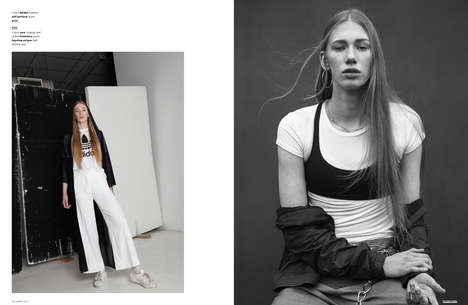Understated Sportswear Editorials - The Ones 2 Watch 'All That' Story Boasts Effortlessly Cool Style