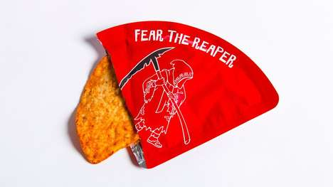 Fiery Single-Serving Chips - The 'Carolina Reaper Madness' Chips are Sold One at a Time
