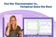 Mobile Body Temperature Trackers - TempCue is a Connected Device That Records Basal Body Temperature
