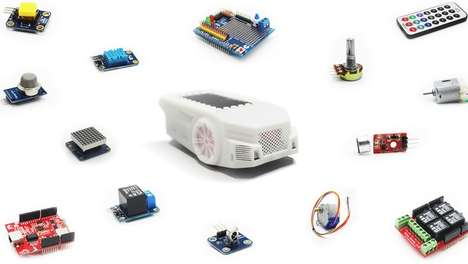 Robotics-Teaching Toy Cars - The 'Blinkgogo' Robotics Kit Incorporates STEM Education Fundamentals