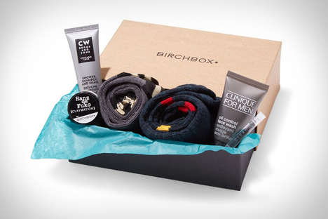 Monthly Masculine Box Subscriptions - Birchbox Man Provides Essential Products without Shopping