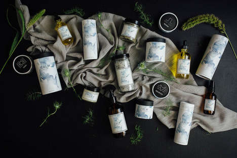 Small-Batch Beauty Products - These Aromatic Products Were Designed for Bath and Skincare Rituals