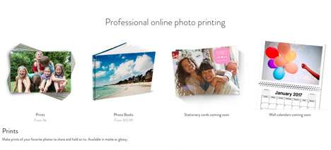 Cloud-Connected Printing Services - The Amazon Prints Photo Printing Service is Easy and Intuitive