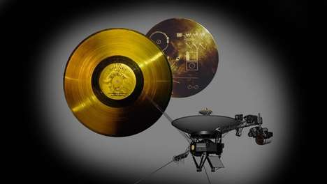 Cosmic Golden Records - The Famous Voyager Golden Records will Go on Sale to the General Public