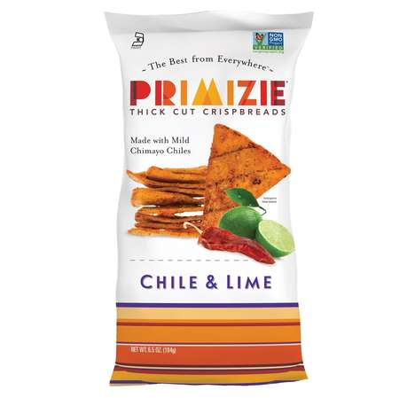 Flavorful Exotic Crunchy Snacks - Primizie Crispbreads Offer Rich Taste, Crunch and Ingredients