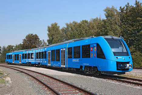 Zero-Emission Hydrogen Trains - Alstom's Coradia iLint Train is Powered by a Hydrogen Fuel Cell