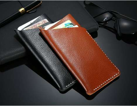 Adjustable Universal Wallets - The 'FLOVEME' Universal Wallet Can Accommodate Smartphones and More