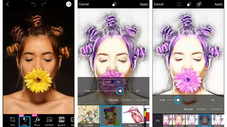 Creative Photo Transformation Apps - PicsArt Turns Pictures and Videos into Magic Graphics