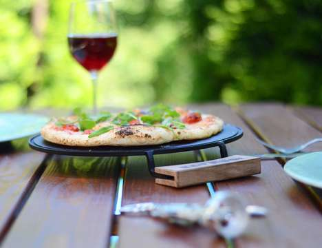 Stovetop Pizza Ovens - The 'IRONATE' Makes Fresh Pizza Using No Oven Less than Ten Minutes