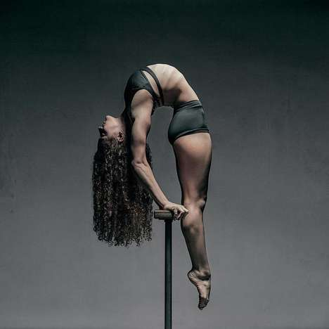 Artistic Acrobatic Portraits - These Portraits of Dancers Beautifully Highlight Technical Movements