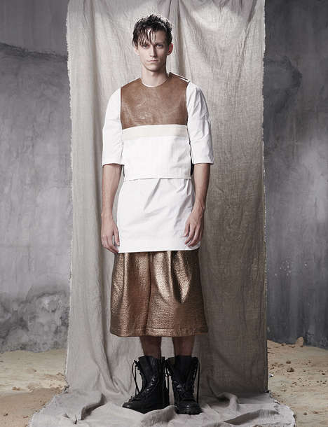 Modern Warrior Menswear - The 'Fusion Collection' from JINUMO Was Inspired by 'Mad Max'